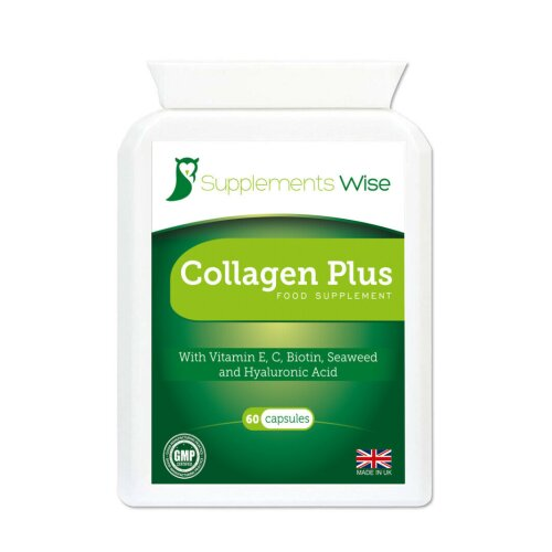 Collagen Complex With Hyaluronic Acid & Vitamin C For Skin, Wrinkles