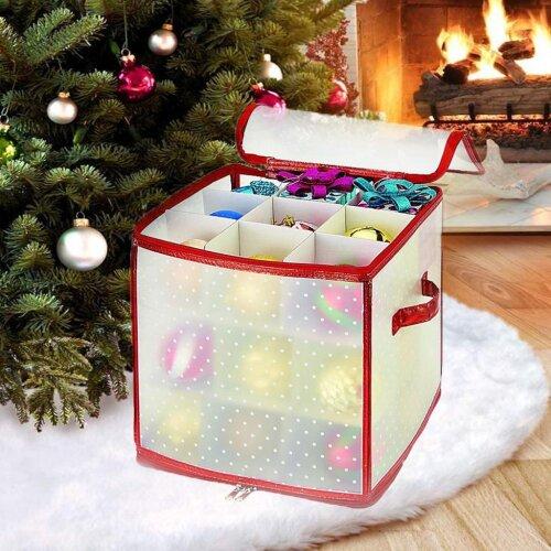 27 Christmas Baubles Storage Box