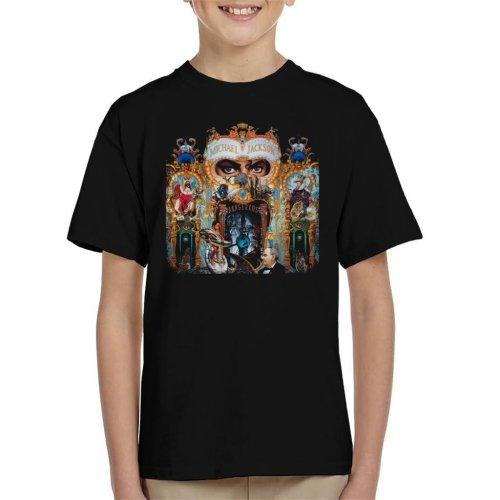 (Large (9-11 yrs)) Michael Jackson Dangerous Kid's T-Shirt
