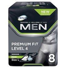 Tena Men Premium Pants Large, Pack of 8