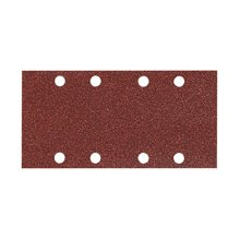 Makita P-31871 40 Grit Punched 1/3 Sheet Hook and Loop Sanding Paper - Multi-Colour