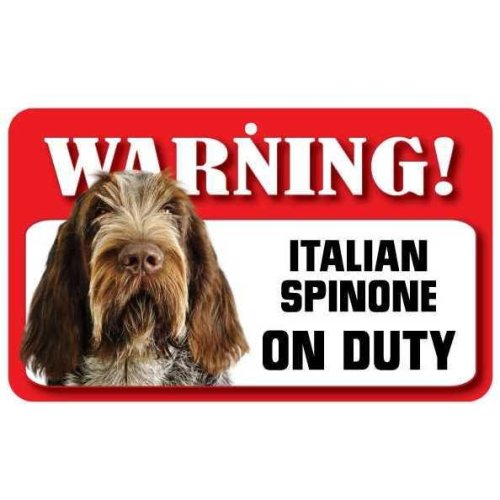 Italian Spinone Pet Sign