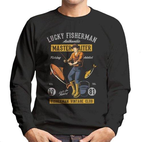 Lucky Fisherman Men's Sweatshirt