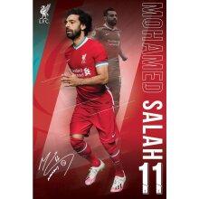 Liverpool FC Salah Poster