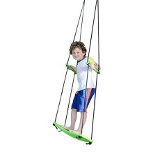 Swurfer Kick Stand Up Surfing Tree Swing Outdoor Swings for Kids Up to 150 Lbs Hang from Up to 10 Feet High Includes 24 SwingBoard UV Resistant Rope H