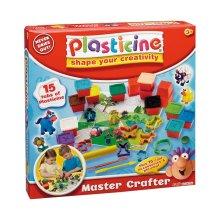 Plasticine Master Crafter Craft Clay Modelling Set