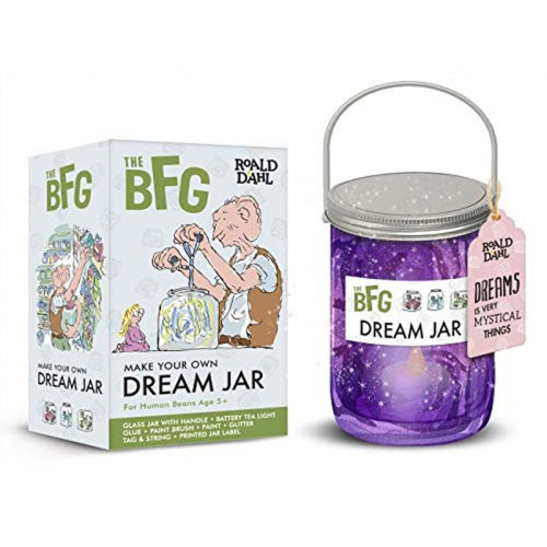 The BFG Create Your Own Dream Jar