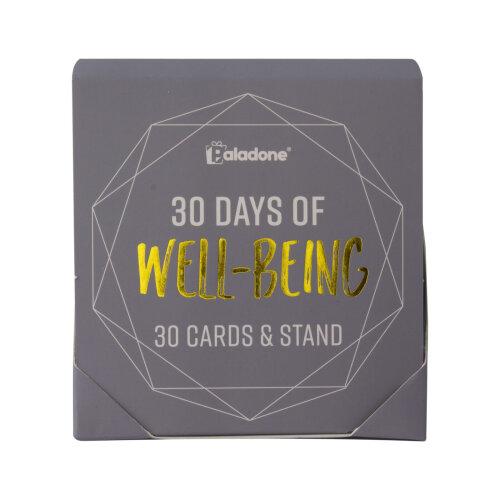 Paladone 30 Reusable Days of Wellness Cards & Display Stand