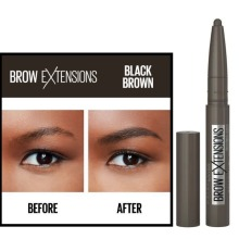 Maybelline Brow Extensions Pomade Crayon - Black Brown