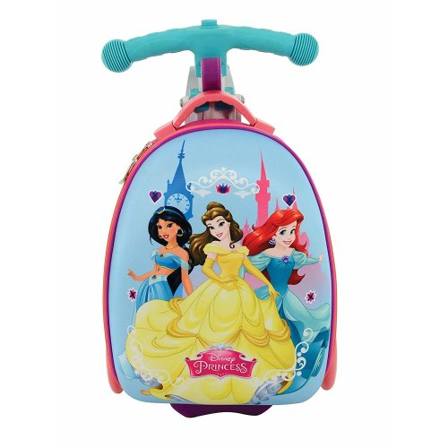 Disney Princess Scootin Suitcase, Purple