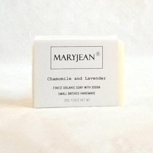 Organic Scottish Chamomile Lavender Facial Cleansing Soap With Jojoba
