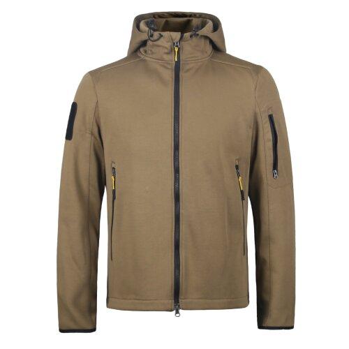 (Brown, M) Men's Windproof and Waterproof Outdoor Jacket