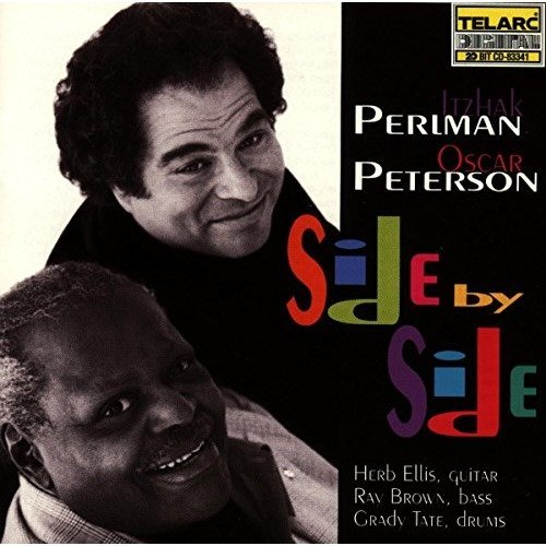 Itzhak Perlman and Oscar Peterson - Side by Side [CD]