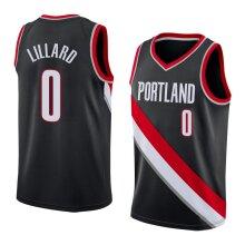 Portland Trail Blazers Damian Lillard Men's Basketball Jersey Sport Shirts Sleeveless T-Shirt