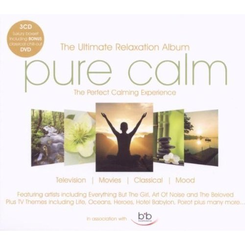 Pure Calm - Ultimate Relaxation Album [3CD and DVD] [CD]