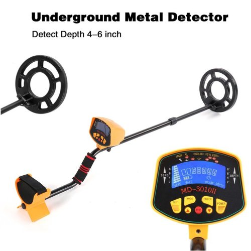 LCD Underground Metal Detector Coins finder Sensitive Search