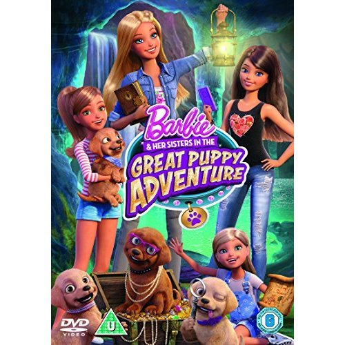 Barbie & Her Sisters - The Great Puppy Adventure DVD [2015]