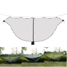Outdoor Portable Hammock Mosquito Insect Net Camping Swing Bed Gauze Protection