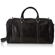 55x26x25 cm - Duffel Leather Bag - Made in Italy