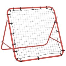 HOMCOM Rebounder Net  Practise Goal Play Kids Adults Baseball Soccer Training