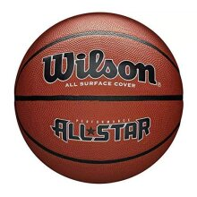 Wilson Men Performance All Star Outdoor basketball, Rough Surfaces, Asphalt, Synthetic Floors, Brown, WTB4041XB7