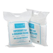 2 x Trimits 250g Washable Supersoft Toy & Cushion Filling / Stuffing - 500g in Total