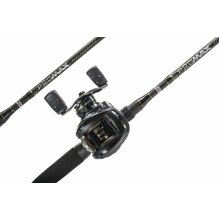 Abu Garcia 6ft'6 Pro Max Baitcast Fishing Combo Rod & Reel