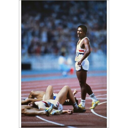Daley Thompson Stands Alone (Poster Print)