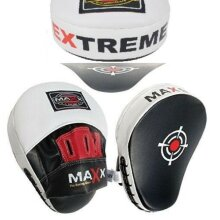 Extreme focus pads Blk/ w , boxing mitts , focus mitts Jabs