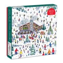 Michael Storrings Apres Ski 1000 Piece Puzzle by Galison