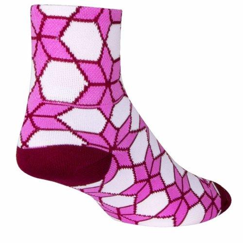 "Socks - Sockguy - 3"" Classic Prism L/XL Cycling/Running"