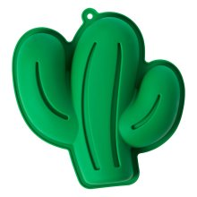 Zing Cactus Cake Mould, Green