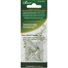 Clover Kantan Couture Bead Embroidery Tool Needle Refill-Single Ply