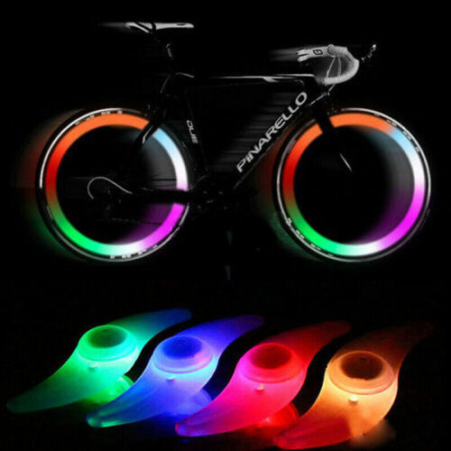 Colorful LED Wheel Lights Cycling LED Spoke Wire Tire Tyre Wheel Light
