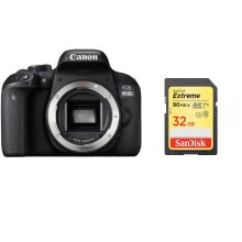 CANON EOS 800D Body + SanDisk Extreme 32G SD card
