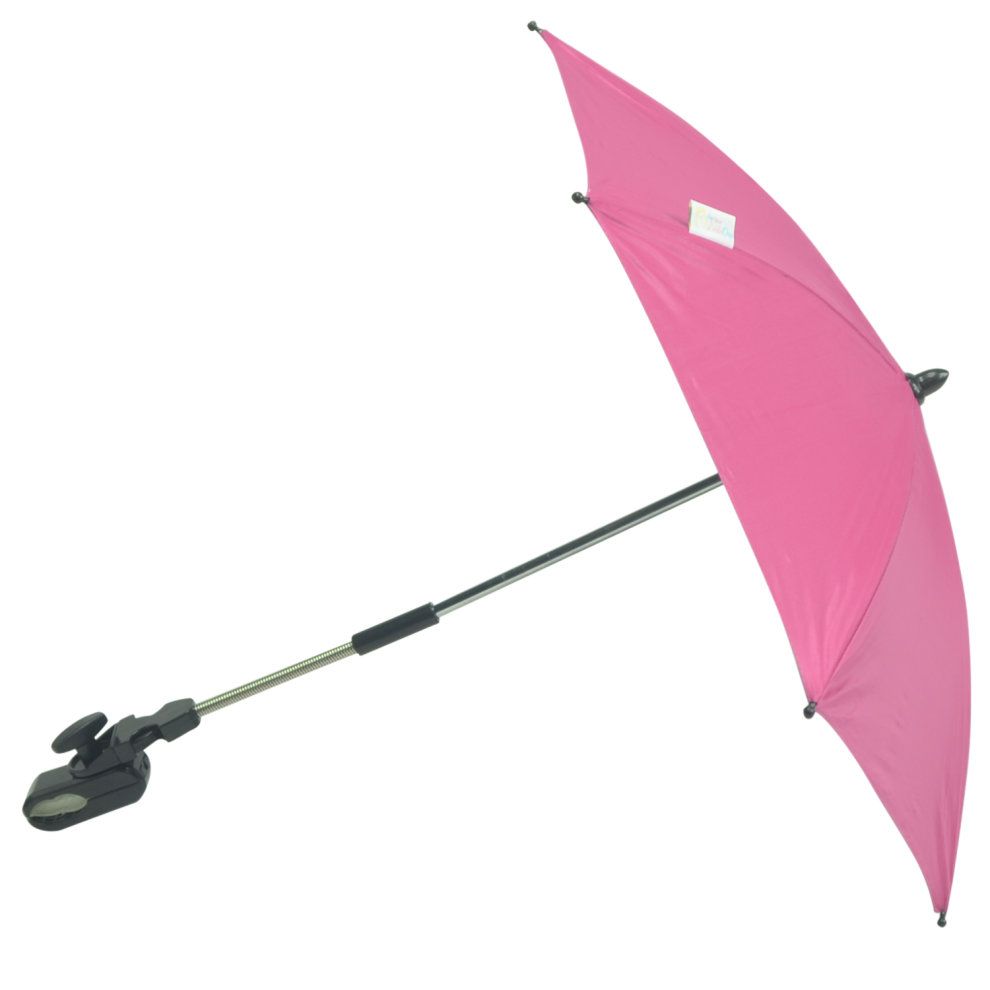 Baby Parasol Compatible with Hauck Sport Hot Pink