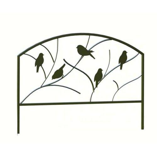 Panacea PAN84565 18 inch x 24 inch Perching Birds Garden Edge