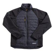 JCB 1945 Padded Ecomax Work Jacket Black (Sizes M-XXL)