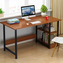 Computer Desk 100CM Home Office Table Wood Writing Study Workstation