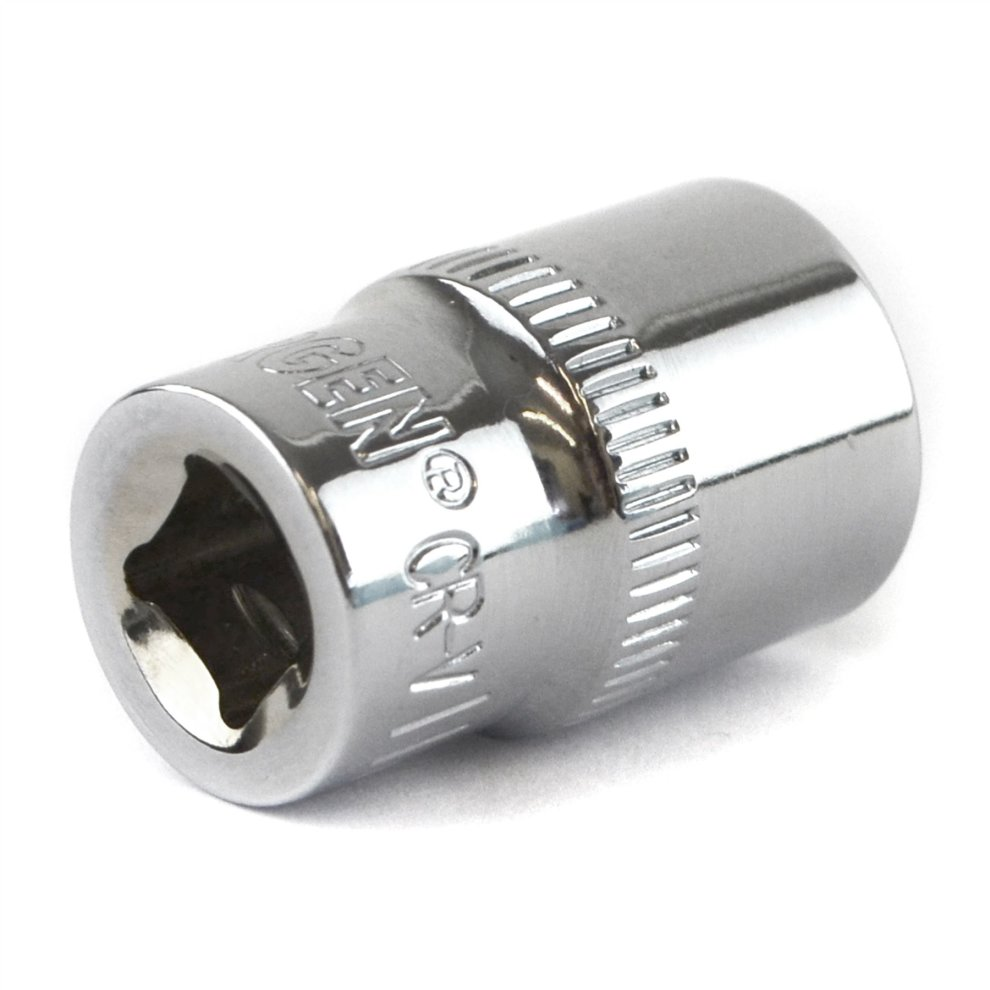 "4mm 1//4/"" Drive Shallow Metric Socket Single Hex 6 sided Bergen"
