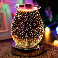Glass Electric Wax Warmer Aroma Touch Lamp Diffuser