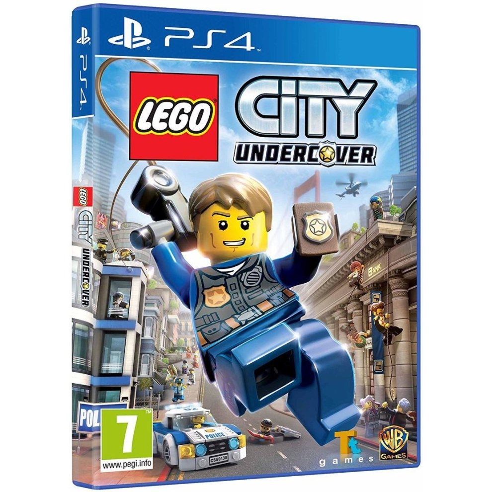 LEGO City Undercover Video Game PS4 on OnBuy