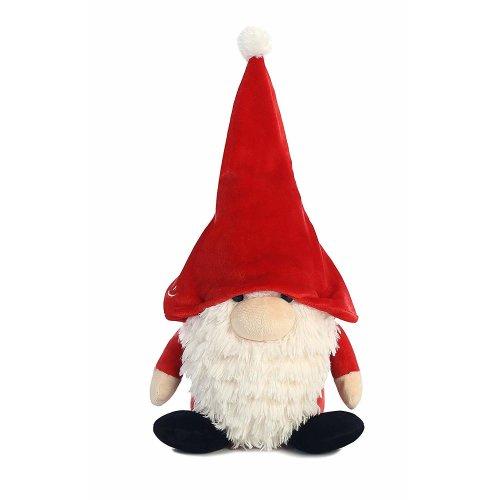 The Gnomlins Santa Gnome Plush Red