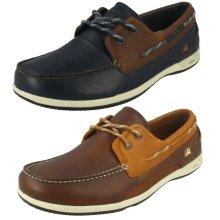 Mens Clarks Deck Shoes Orson Harbour - G Fit