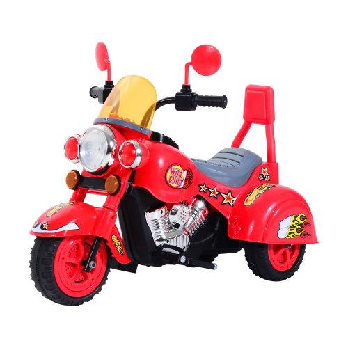 HOMCOM Electric Ride On Car Children Powered Sound Light Riding Motorbike