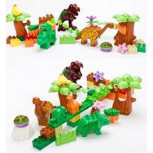 Kids Dinosaur Building Blocks Toy