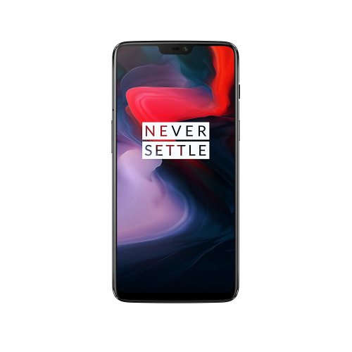 (Unlocked, Mirror Black) OnePlus 6 Dual Sim | 64GB | 6GB RAM