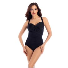 Miraclesuit 6518963W Women's Must Haves Sanibel Black Underwired Shaping Swimsuit