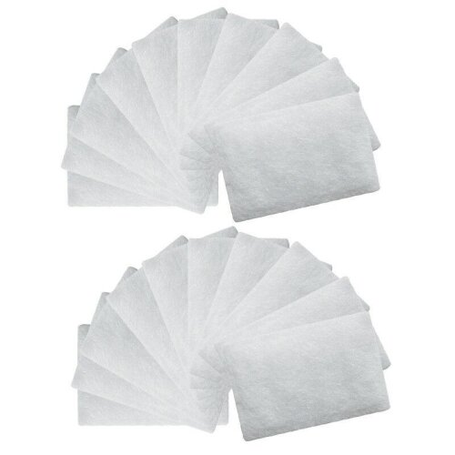 (As Seen on Image) ResMed AirSense Disposable Universal Replacement Filters Cotton Filter  Sleep Snorer