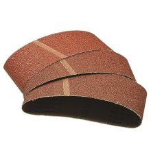 Wolfcraft 1908000 75 x 510mm Sanding Belts with 40-Grit (Pack of 3)